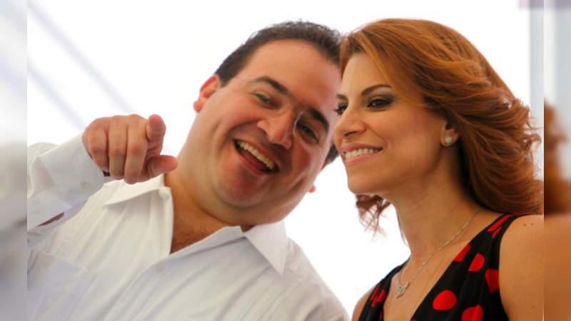 Karime Macías, exesposa de Javier Duarte, con orden de extradición en México por defraudación fiscal